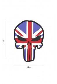 Patch 3D PVC Punisher UK