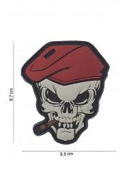 Patch 3D PVC Skull Sigar