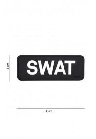Patch 3D PVC SWAT Black